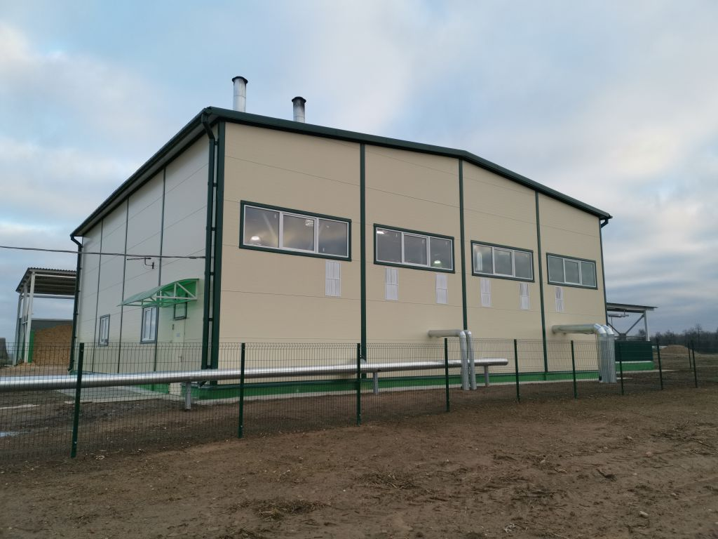 Строительство блочно-модульной котельной на МВТ в районе а.г.Блонь Пуховического района