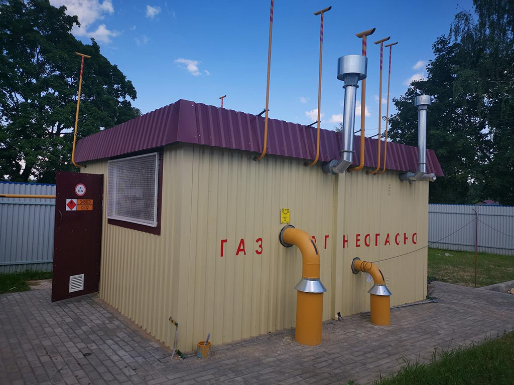 Реконструкция котельной в Лесковке