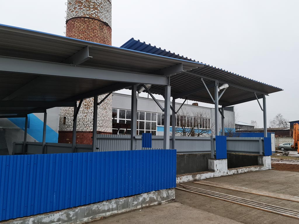 установка котла на местных видах топлива в д. Габриелевка