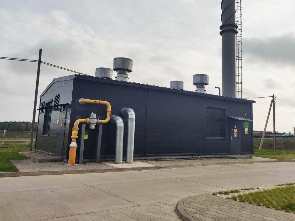 БМК для отопления жилого дома в Ратомке