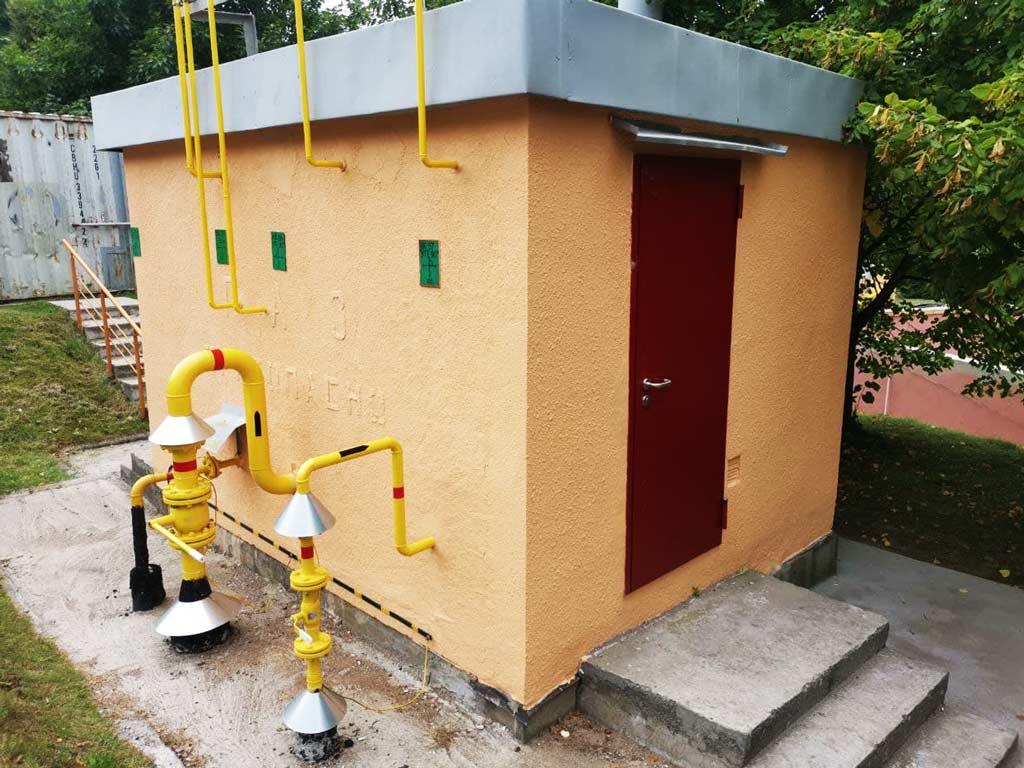 Модернизация газорегуляторного пункта и котельной - котлоэнергосервис СМУ