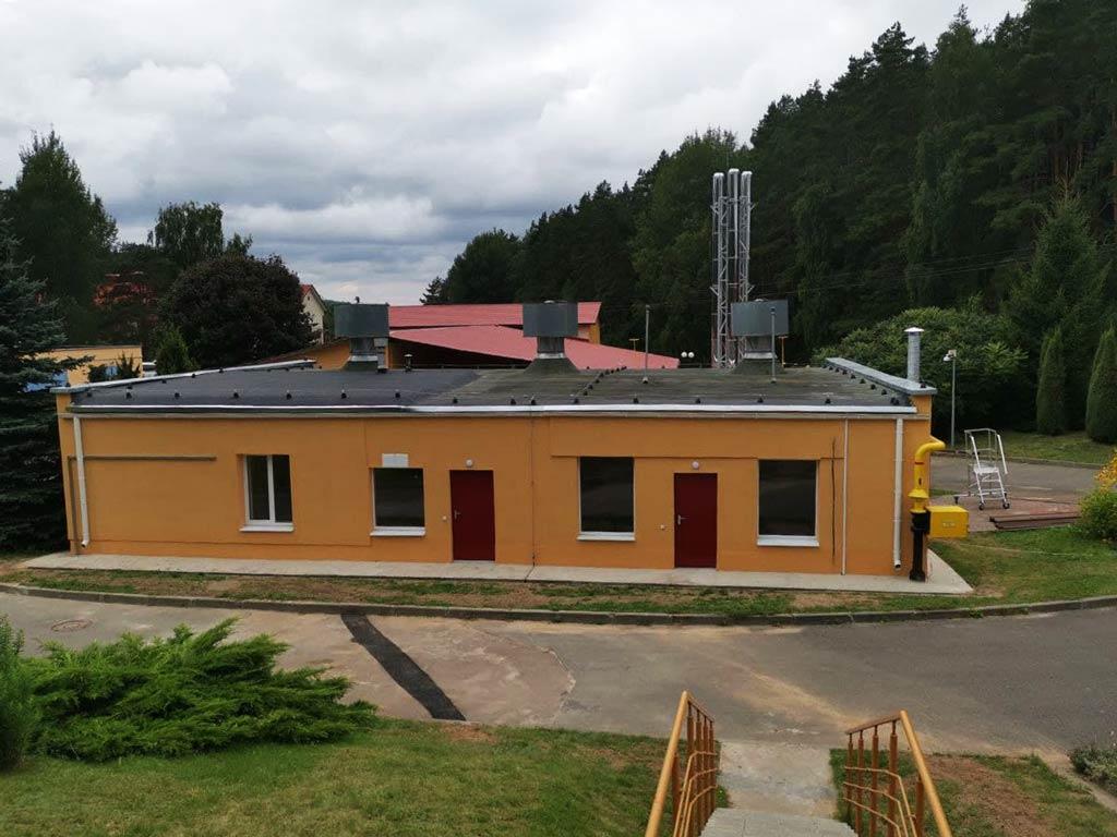 Модернизация газорегуляторного пункта и котельной